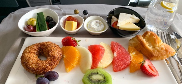 Turkish Airlines Breakfast