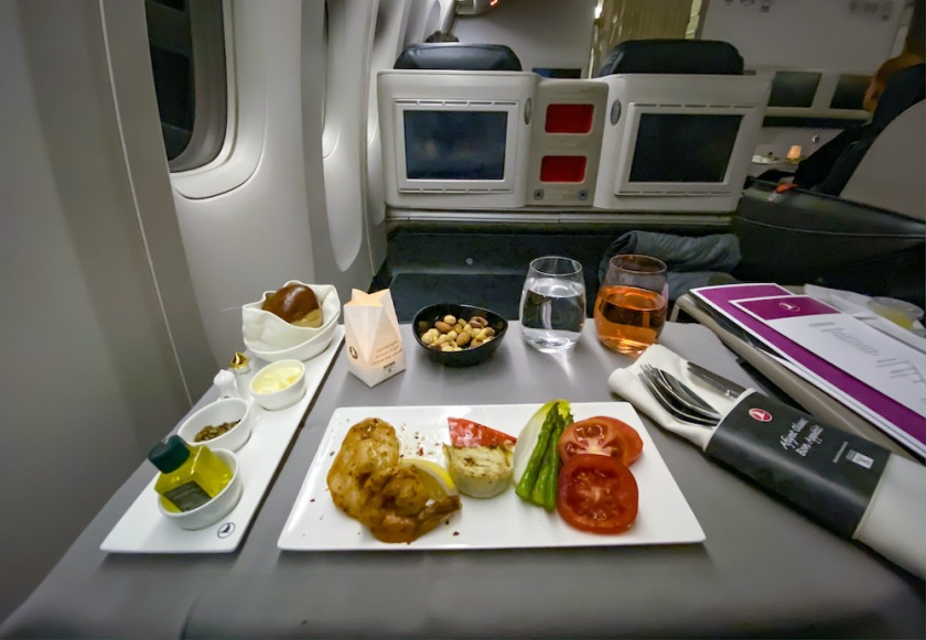 Turkish Airlines Business Class 777 300er Manila To Istanbul Firstofly